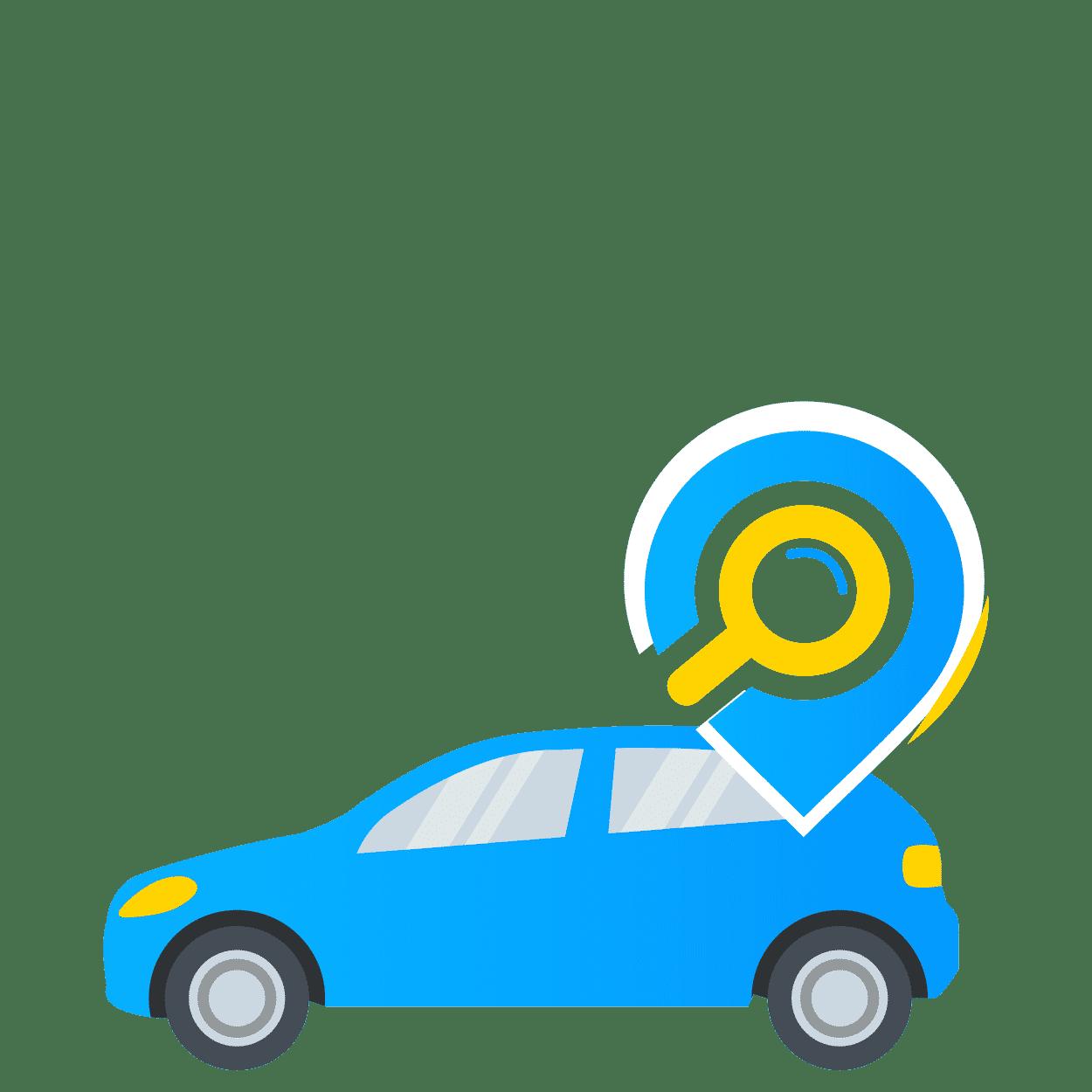 איתור רכבים